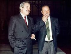 Judges Falcone and Borsellino 1992