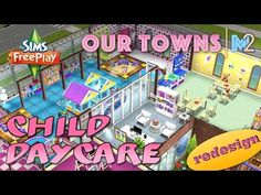 Sims FreePlay - Let's Build a Daycare Center (Live Build Tutorial) - YouTube