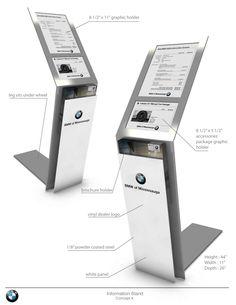 BMW Dealer tech panel displayer