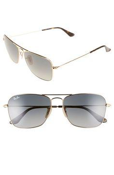 4582540b885 Ray-Ban  Caravan  58mm Aviator Sunglasses Discount Ray Ban Sunglasses
