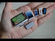 iMac, iPad и iPhone для кукол / iMac, iPad and iPhone for dolls - YouTube