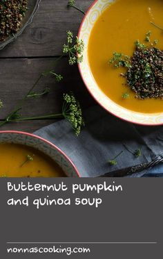 Butternut pumpkin and quinoa soup | Travelling around the U.S. during fall not only made me appreciate the utter beauty of its landscape, it also reminded me how much I love the good old pumpkin. It was creeping up to Halloween and just about every house, shop or restaurant I saw was adorned with a variety of colourful squashes. Coming home to hot weather in Sydney didn't stop me from picking up a butternut pumpkin and whipping up a soup with it. Personally, I could eat pumpkin soup at any…