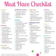 babies r us must have checklist - Baby Room Checklist