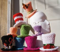 Free Stuff: Mini Top hat crochet pattern pdf - Listia.com Auctions for Free Stuff