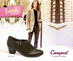 Os tons terrosos tem tudo a ver com o inverno, não é mesmo? Pensando nisso, a Campesí tem muitos sapatos nessas cores!