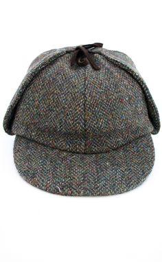 Harris Tweed Deerstalker Hat by Scotweb Tartan Mill (for Caroline Summers) Deerstalker  Hat ab857ff0fdef
