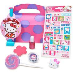Hello Kitty Balloon Dreams Party Favor Box, girl  gift bag ideas