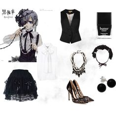 Ciel Phantomhive- Causal Cosplay---maybe different shoes Casual Cosplay, Cosplay Diy, Cosplay Outfits, Halloween Cosplay, Anime Outfits, Cosplay Costumes, Cool Outfits, Casual Outfits, Cosplay Ideas