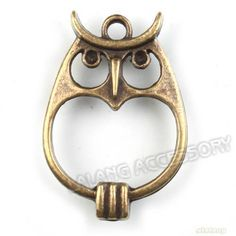 20x 142239 Wholesale Antique Bronze Owl Charms Connector Pendants Findings | eBay
