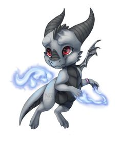 Chibi Kenji by Nordeva on DeviantArt Creature Drawings, Animal Drawings, Cute Creatures, Magical Creatures, Fantasy Dragon, Fantasy Art, Baby Dragon Tattoos, Cute Dragon Drawing, Cool Dragons