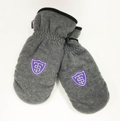 Stay cozy, warm and dry! Logofit Mittens With Thinsulate Liner With Athletic shield 100% Polyester ($29.99) Maine, Mittens, Sweatpants, Cozy, Athletic, Warm, Purple, How To Wear, Fashion