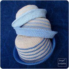 Tuto Chapeau Marin BB au Crochet