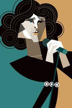Jim Morrison by Pablo Lobato
