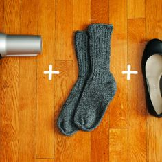 How to break in new shoes in just a few seconds! | Fabulously Disheveled
