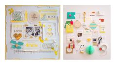Wilna Inspiration Board by theproperpinwheel.com