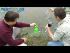 FILTER YOUR OUTDOOR WATER.... THE KATADYN VARIO CAMPING FILTER SYSTEM