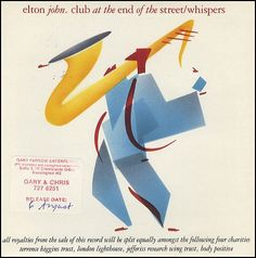"For Sale - Elton John Club At The End Of The Street UK  7"" vinyl single (7 inch record) - See this and 250,000 other rare & vintage vinyl records, singles, LPs & CDs at http://eil.com"