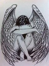 Image result for drawings fallen angels
