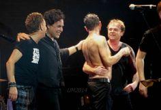 Dave Gahan, Martin Gore, Andy Fletcher, Peter Gordeno, Christian Eigner of Depeche Mode