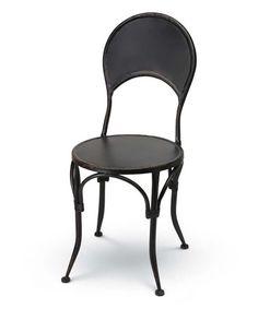 Loving this Black Montauk Café Chair on #zulily! #zulilyfinds