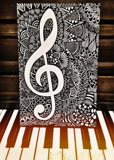 Zentangle - Patterned Melody