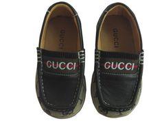 Gucci Boy s Suede Web Driver Moccasins
