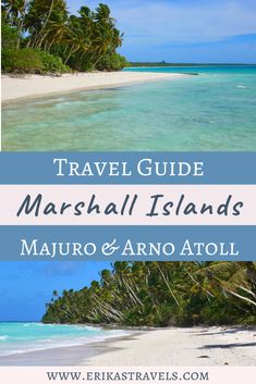 Learn about planning a trip to the Marshall Islands. Guide includes best places to stay, things to do, and tourist attractions on Majuro and Arno Atoll. Federated States Of Micronesia, Marshall Islands, Love Island, Arno, Most Beautiful Beaches, Sea And Ocean, Beautiful Islands, Australia Travel, Travel Inspiration