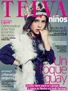 Telva niños #telvaninos #magazinecover #kidsphotography