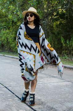 Styling Blanket Scarf - The Vagabond Wayfarer