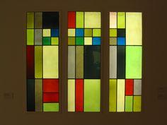 Sophie Taeuber-Arp, Composition géométrique verticale-horizontale (triptyque)