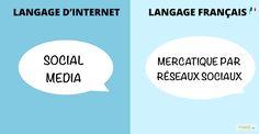 TOP 17 des équivalents français des mots d'internet. Le web francisé !