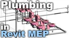 Plumbing in Revit MEP Beginner Tutorial Revit Architecture, Architecture Drawings, Revit City, Learn Revit, Building Information Modeling, Software, Youtube Comments, Training Center, Civil Engineering