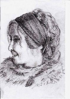 Zeichnung: Porträt - v. skonea