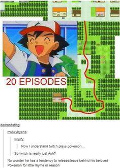 twitch plays pokemon is Ash?!