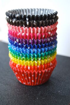 Assorted Polka Dot Cupcake Liners 60 by CupcakeSocial on Etsy, $3.90