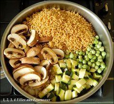 ça fait un bon moment que je vois les recettes de one pot pasta sur les blogs mais je n'avais pas encore testé. Mes gourmandes adorant les plats de pâtes ont beaucoup aimé contrairement à moi qui ne suis pas une grande fan de pâtes. J'ai également trouvé...