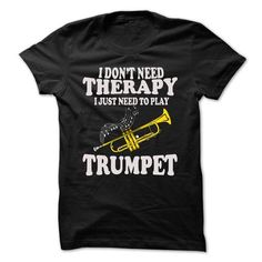 Trumpet T Shirts, Hoodies, Sweatshirts. CHECK PRICE ==► https://www.sunfrog.com/Music/Trumpet-63508015-Guys.html?41382