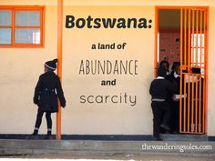 Botswana: A Land of Abundance and Scarcity via The Wandering Soles - travel in southern Botswana villages, lending a hand to Peace Corps volunteers Round The World Trip, Peace Corps, Our World, World Traveler, Volunteers, Us Travel, Abundance, Cool Photos, Southern