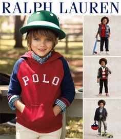 54afb7cd2 RL Instant Style  Ralph Lauren Childrenswear Raglan Sleeve Hoodie