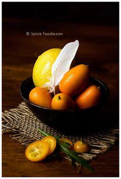 Sunday Snapshots: This week Crushing on Lemons and Kumquats. via SpicieFoodie.com @SpicieFoodie