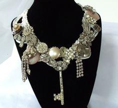 Steampunk Wedding Necklace!!