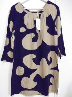 Marimekko 'Palmu' Tunic Dress Size L New with Tag | eBay