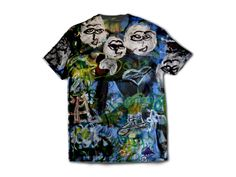Art by Jeff Haines. Unisex cotton t-shirt. You can find this and more awesome art at wearelions.org! Each purchase funds autism acceptance and awareness! #wearelions #roarloud