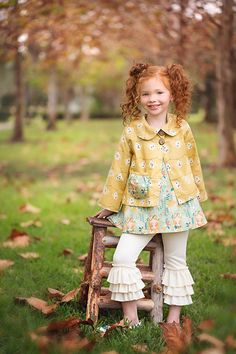 Lily Belle Pinafore & Ruffled Leggings Pattern by VFT