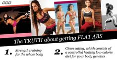the truth about getting flat abs lornajaneactive weight-loss