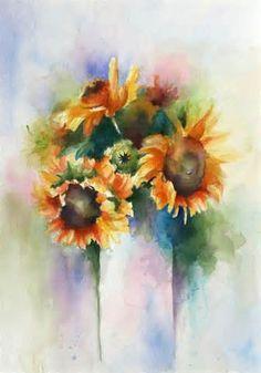 866545bbc51c8ad4bd9f3b82f123e6af--sunflower-art-watercolor-art.jpg 236×337 pixels