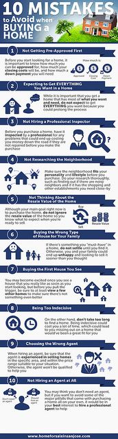 10 mistakes buying a home, www. via Cynthia Arey Living N Colorado Buying First Home, Home Buying Tips, Home Buying Process, First Time Home Buyers, Real Estate Buyers, Real Estate Tips, Just In Case, Just For You, Real Estate Information