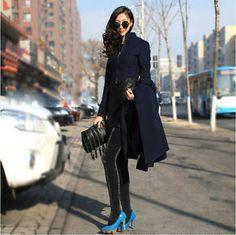 Brand-New-Winter-Wool-Blend-Trench-Coat-Elegant-Outwear-Coat-Long-Maxi-Dress