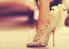 Amazing wedding shoes, unfortunately the link does not tell you where to buy them.