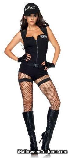Leg Avenue Womenu0027s Swat Hottie Costume - Halloween Costumes 2013  sc 1 st  Pinterest & 87 best Halloween Costumes images on Pinterest | Halloween ideas ...